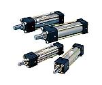 14MPa用複動形油圧シリンダ ウレタンゴムパッキン ロッド側正方形フランジ形等