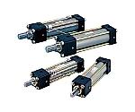 14MPa用複動形油圧シリンダ スイッチセット(ウレタンゴムパッキン) ストローク100mm等