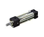 7MPa用複動形油圧シリンダ スイッチセット ウレタンゴムパッキン 軸方向フート形等