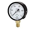 普通形圧力計(A枠立形・φ75・G3/8B・0.0~0.16Mpa) 等