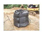 Weather Resistant Large Sandbags Black 100KT J-100KT