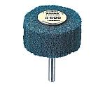 ナイロン軸付ホイル外径φ100×厚み25×軸6 1000# 等