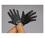 手袋(豚革/黒/あて付)