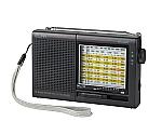 [取扱停止]123x76x31mmAM/FM短波ラジオ(3バンド) アナログ同調
