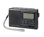 123x76x31mmAM/FM短波ラジオ(3バンド) 液晶表示アナログ同調 EA763BB-29A