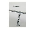 ミーティングテーブル用配線ダクト シルバー