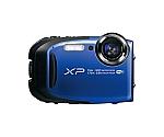 [取扱停止]フジ デジタルカメラ XP80ブルー 1640万画素 光学5倍ズーム