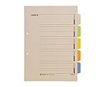 カラ-インデックス A4S 2穴 1パック10組入