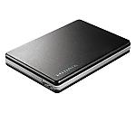 [取扱停止]ポータブルハードディスク ブラック HDPF-UT500KC