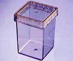 プラントボックス(植物培養用、ポリカーボネート製) 100個 CUL-JAR300