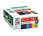 リサイクルインク CANON用 BCI-351+350/6MP互換 リサイクルインク 6色セット(普通容量)