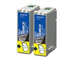 互換インクカートリッジ EPSON用 IC1BK05W対応 黒 2個パック PLE-E05B2P