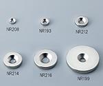 Neodymium Magnetic Stone (Round Type) (With Plate Hole) φ8 x 5 - M2.5 Plate Hole 30 Pcs NE329