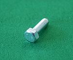 六角ボルト(全ねじ) 鉄ユニクロ サイズ3×6mm 20個入り 等