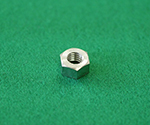 六角ナット(1種) 真鍮ニッケル等