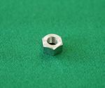 六角ナット(1種) 真鍮ニッケル ID121 Noシリーズ等