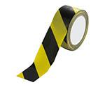 安全標識テープ 黄/黒 374100