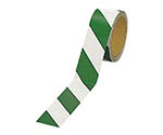 反射トラテープ(緑/白 ポリエステル樹脂フィルム