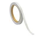 反射テープ白 ポリエステル樹脂フィルム 10mm幅×10m巻 37430