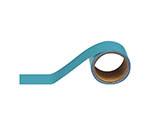 配管識別テープ 水色(大)・アルミ・100mm幅X5m