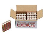 大容量アルカリ乾電池単3形40パック