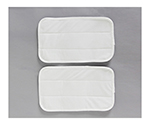 Microfiber Pad For Mop White 320 x 193 x 3.5mm and others