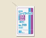 HEIKO ポリ袋 透明 ニューソフトパック 0.007mm 紐付