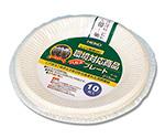 食品容器 バガスペーパーウェア (10枚パック) プレート