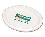 食品容器 バガスペーパーウェア (10枚パック) パーティープレート P-31 004466032