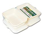 食品容器 バガスペーパーウェア(10枚パック) フードパック