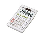 [Discontinued]CASIO Double Tax Rate Calculator Mini Just Type 10 Digits White MW-100TWE-N