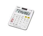カシオ チェック検算電卓 ミニジャストタイプ MJ-120W-N