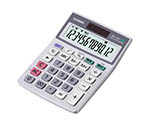 CASIO Calculator Conforming To Law Concerning The Promotion Of Procurement Of Eco-Friendly Goods And Services By The State And Other Entities Mini Just Type MW-12GT-N