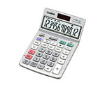 CASIO Calculator Conforming To Law Concerning The Promotion Of Procurement Of Eco-Friendly Goods And Services By The State And Other Entities Just Type 12 Digits JF-120GT-N