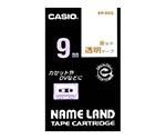 カシオ ネームランドテープ (透明地/金文字)