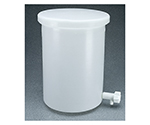 円筒型活栓付タンク