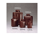 Square Reagent Bottle HDPE Brown 125mL and others