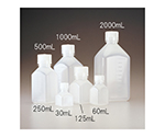 Square Bottle PPCO Transparent 30mL and others