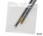 静電気拡散性ESDバッグ 透明 203mm×254mm 13882