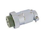 防水メタルコネクタ NWPC-30シリーズ 6極 P9 NWPC306P9