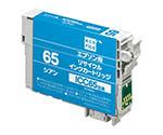 EPSON/ICC65互換/シアン ECI-E65C