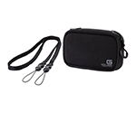 Digital Camera Case GRAPH GEAR Black w/Neck Strap and others
