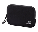 Digital Camera Case GRAPH GEAR Black without Neck Strap and others