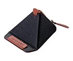 スマートフォン用三角スタンド(ソフトレザー)