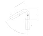 連結管曲管(60°異径) 2511-3L2L