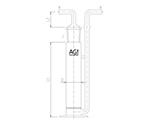 ガス吸収管 4224-80