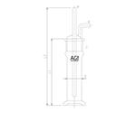 ガス吸収瓶 4226-80