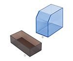 レシート回収ボックス ブルー