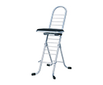 Work Chairs swing Black/Silver PW-600S