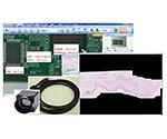 簡易画像計測・画像合成ソフト Hybrid Measure 200万画素USBカラーカメラセット HM-C200